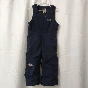 The North Face snow suit bib